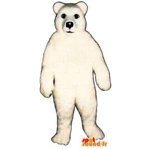 Mascot realistic polar bear - MASFR006735 - Bear mascot