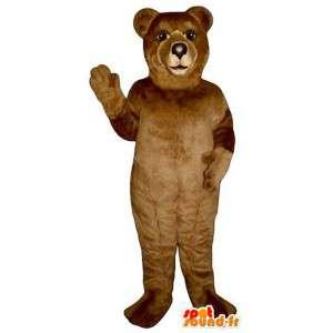 Mycket realistisk brunbjörnmaskot. Brunbjörndräkt - Spotsound
