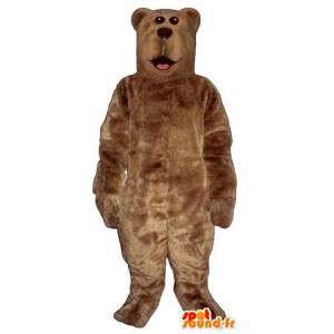 Brunbjørn maskoten til gigantisk størrelse - MASFR006744 - bjørn Mascot