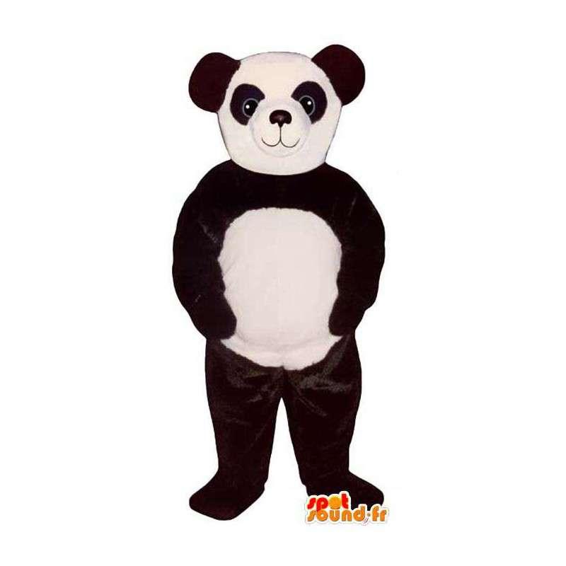 Mascot black and white panda. Panda costume - MASFR006746 - Mascot of pandas