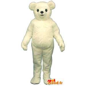 Isbjørnemaskot, der kan tilpasses - Spotsound maskot kostume