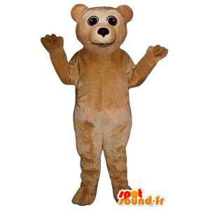 Mascot beige bamse. bamse kostyme - MASFR006768 - bjørn Mascot
