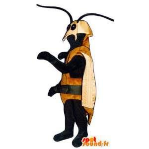Mascot besouro castanho. Costume inseto - MASFR006777 - mascotes Insect