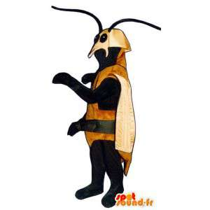 Mascot brown beetle. Costume insect - MASFR006777 - Mascots insect