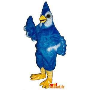 Maskotka ptak niebieski i biały olbrzym. Kostium ptak - MASFR006789 - ptaki Mascot