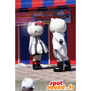 2 mascotte Ciao Kitty e il suo compagno - MASFR25582 - Yuru-Chara mascotte giapponese