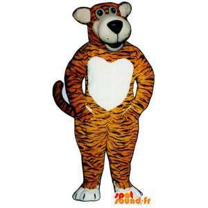 Disguise tigre arancione a strisce nere