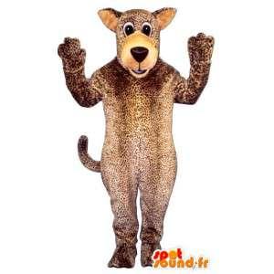 Mascotte de chien façon panthère - Toutes tailles - MASFR006840 - Mascottes de chien