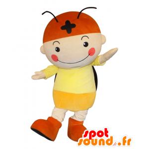 N Firefly mascotte, ragazzo alato, lucciola gigante - MASFR25892 - Yuru-Chara mascotte giapponese