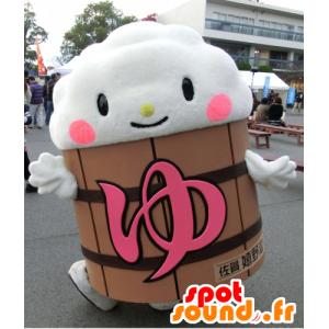 Yuttsura kun mascotte, nuvola, la schiuma in un barile - MASFR25972 - Yuru-Chara mascotte giapponese