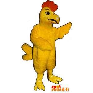 Geel haan pak, giant - alle soorten en maten - MASFR006851 - Mascot Hens - Hanen - Kippen