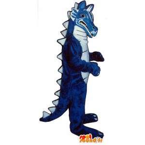 Blue Dragon maskotti. Sininen Dinosaur Costume - MASFR006902 - Dragon Mascot