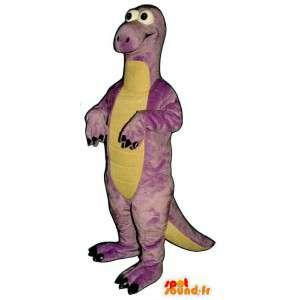 Lila Dinosaurier-Maskottchen.Dinosaurier-Kostüme - MASFR006905 - Maskottchen-Dinosaurier