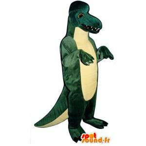 Dinosaurier-Kostüm.Grüner Dinosaurier-Kostüm - MASFR006906 - Maskottchen-Dinosaurier