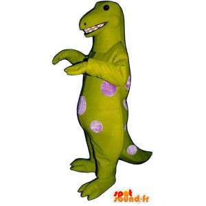 Maskotka Tyrannosaurus kropki różowy polka. Costume Godzilla - MASFR006907 - smok Mascot