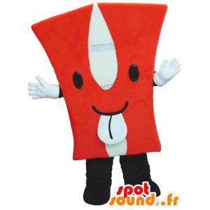 Mascotte a forma di capitale di rosso H - MASFR26308 - Yuru-Chara mascotte giapponese