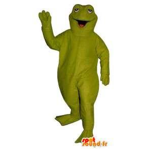 Giant green frog mascot. Frog Costume - MASFR006924 - Mascots frog