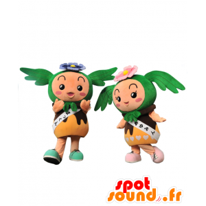 Ayumin og Akao-kun maskotter - 2 søde maskotter - Spotsound
