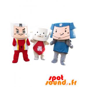 Mascotte Pikatan a Serorin e Yuppie, molto carino - MASFR26532 - Yuru-Chara mascotte giapponese