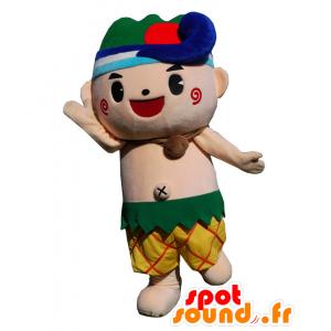 Trick-kun mascotte, ragazzo di colore pantaloncini - MASFR26627 - Yuru-Chara mascotte giapponese