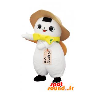 Raramente kun mascotte, l'uomo bianco con un cappello - MASFR26628 - Yuru-Chara mascotte giapponese