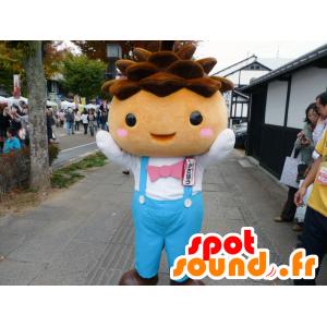 Kasabo mascotte, ragazzino con tuta blu - MASFR26643 - Yuru-Chara mascotte giapponese
