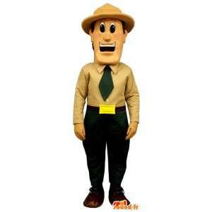 Grenswacht mascotte. Guardian Costume - MASFR006956 - man Mascottes