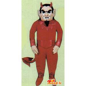 Costume de diable rouge. Déguisement d'Halloween - MASFR006964 - Mascottes animaux disparus