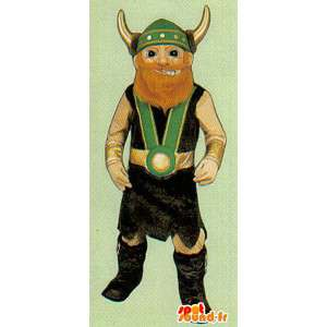 Disfarçar Viking tradicional - traje customizável - MASFR006972 - mascotes Soldiers