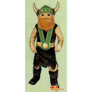 Skjule tradisjonelle Viking - Tilpasses Costume - MASFR006972 - Maskoter Soldiers