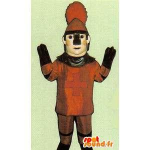 Ritter-Kostüm mittelalterliche - MASFR006976 - Maskottchen der Ritter