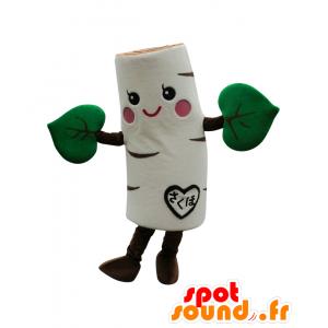Birch-chan mascotte, albero bianco e verde - betulla mascotte - MASFR26864 - Yuru-Chara mascotte giapponese