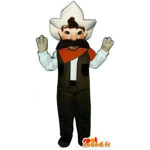 Cowboy maskot. Cowboy kostume - Spotsound maskot kostume