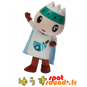 Mascot Shimizu karakter med et fjell på hodet - MASFR26926 - Yuru-Chara japanske Mascots