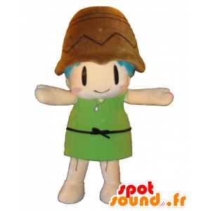 Mascotte Utayan, bambina...