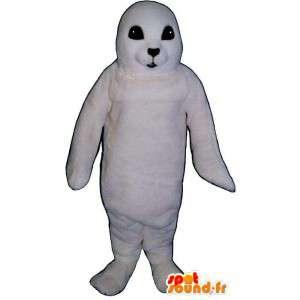 Foca blanca del juego del bebé.Disfraz bebé león marino - MASFR006993 - Sello de mascotas