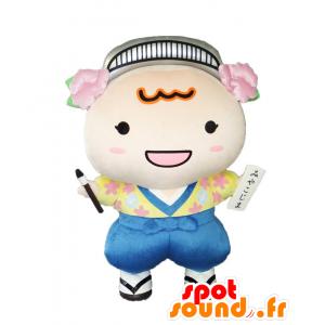Mascotte & Namisuke Nami, 2 a colorato - MASFR27015 - Yuru-Chara mascotte giapponese