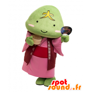 Mascotte Gora primavera calda, pietra vulcanica verde, l'uranio - MASFR27027 - Yuru-Chara mascotte giapponese