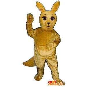 Mascotte coniglio giallo, dolce e carino - MASFR007006 - Mascotte coniglio
