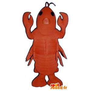 Costumes lobster. Costumes crustacean