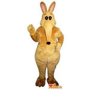 Mascot gelb Tapir sehr nett - MASFR007012 - Maskottchen Ameise