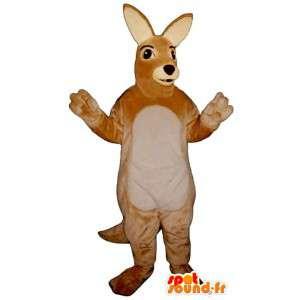 Känguru-Kostüm schön und realistisch - MASFR007014 - Känguru-Maskottchen