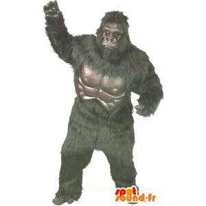 Giant gorilla costume, molto realistico - MASFR007017 - Mascotte gorilla