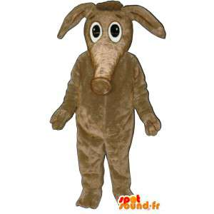 Beżowy kostium tapir. kostium tapir
