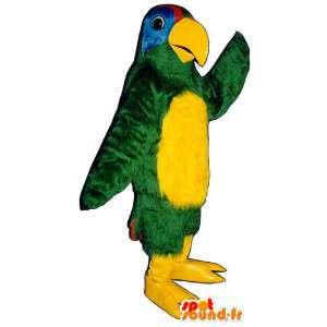 Costume de perroquet très coloré