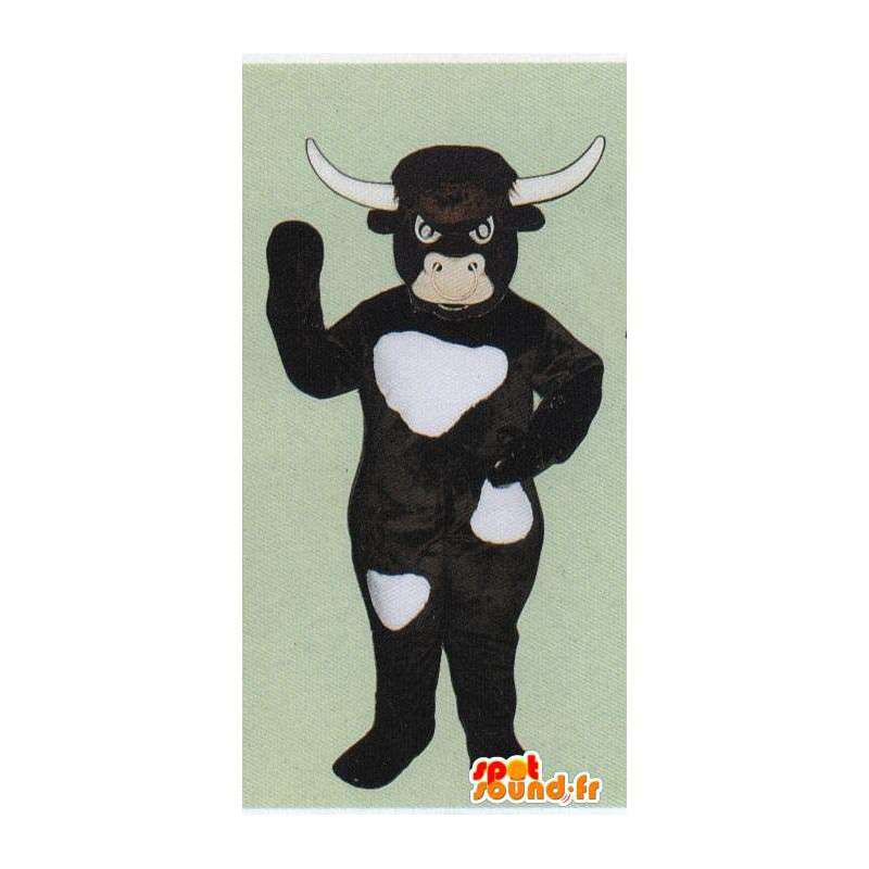 Costume de vache, de taureau marron foncé - MASFR007057 - Mascottes Vache