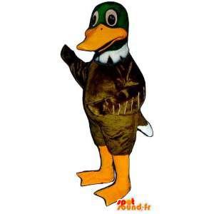 Mascotte de canard très réaliste