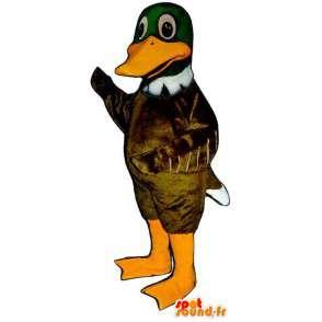 Mascotte de canard très réaliste - MASFR007063 - Mascotte de canards
