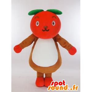 Cockeysville-kun mascotte, una mela rossa gigante - MASFR27429 - Yuru-Chara mascotte giapponese