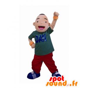 Mascotte Dan Musashi-kun, allegro ragazzo di grande successo - MASFR27541 - Yuru-Chara mascotte giapponese